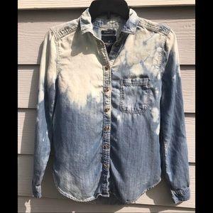 American Eagle Custom Acid Wash Boyfriend Fit